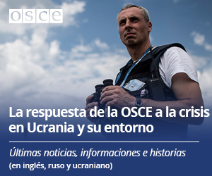 The crisis in and around Ukraine portal - blue color, single monitor- ES