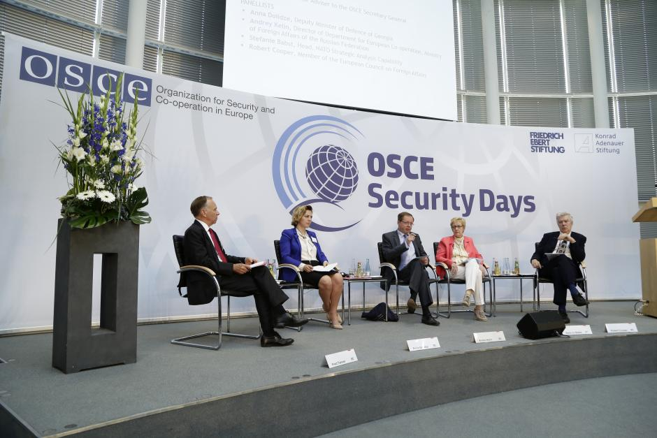 A panel discussion on restoring stability and predictability in the politico-military sphere at Security Days, Berlin, 24 June 2016.