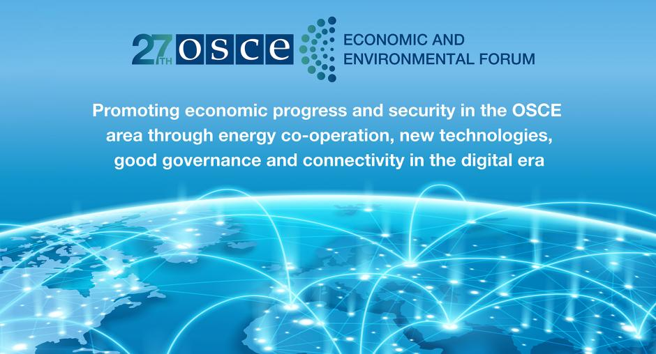 1st Preparatory Meeting of the 27th OSCE Economic and