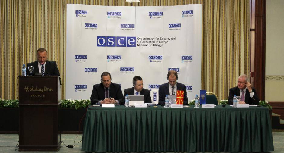 OSCE Organizes National Tabletop Simulation In Skopje On Protecting - Conference national table