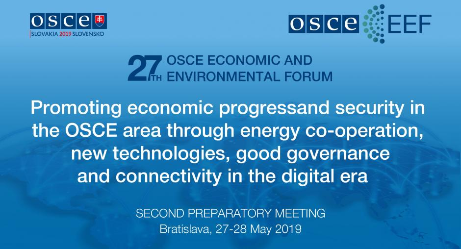 2nd Preparatory Meeting of the 27th OSCE Economic and