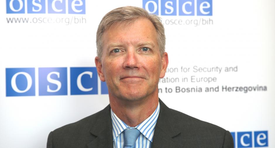 Ambassador Bruce G  Berton | OSCE