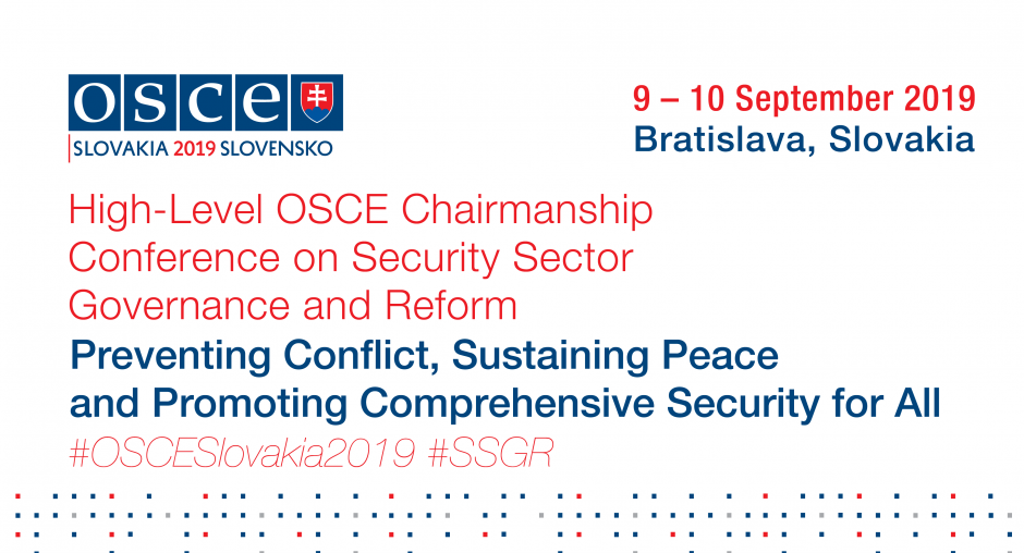 Conflict prevention, sustaining peace and comprehensive