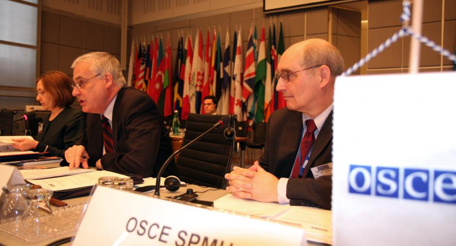 OSCEs Senior Police Adviser Speaks At A Workshop On Implementing The UN Convention Against Transnational Organized Crime In Vienna 7 April 2008