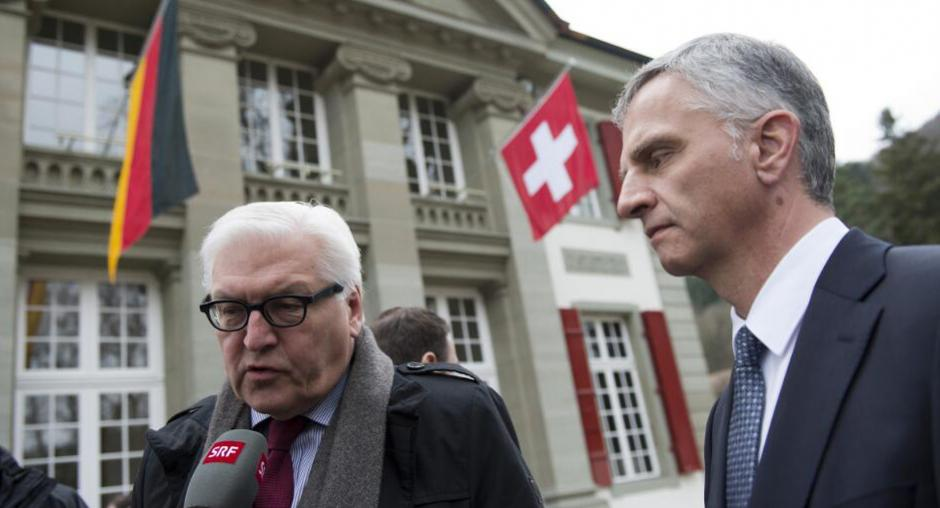 swiss osce chair discusses crisis in ukraine with german foreign