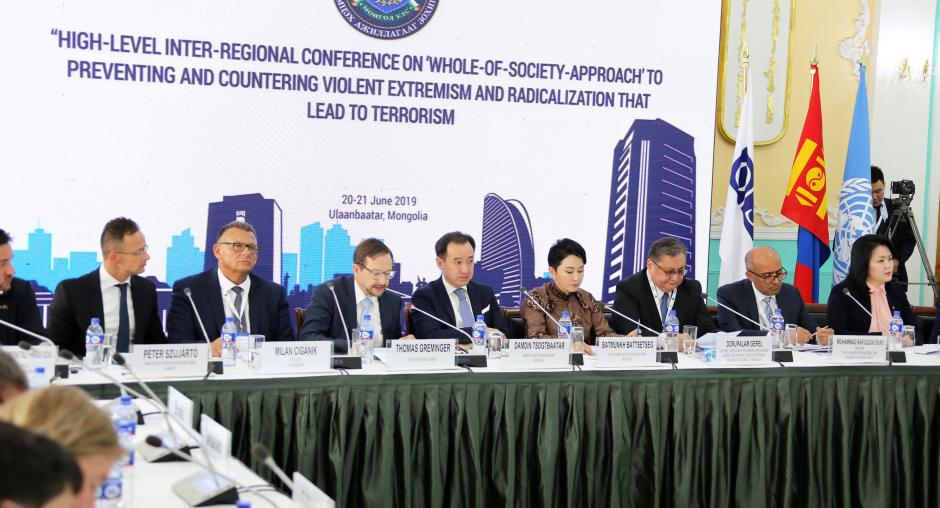 The UN and the OSCE approaches and efforts in preventing and combating terrorism
