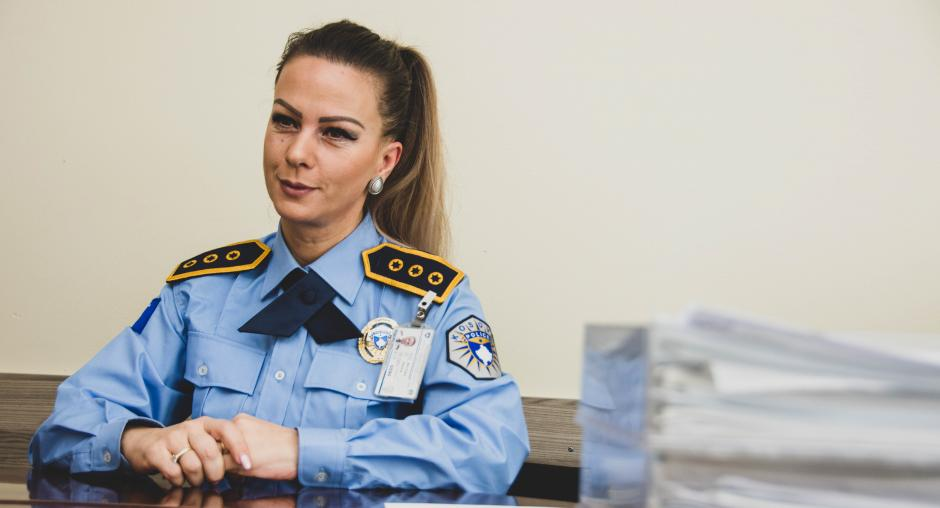 Strong Women on the Rise in the Kosovo Police | OSCE