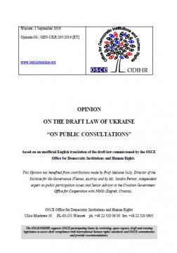 OSCEODIHR Opinion On The Draft Law Of Ukraine On Public - How to draft a legal document