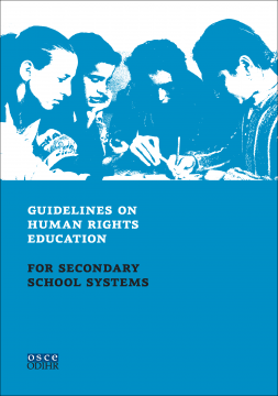 guidelines on human rights education for secondary school systems osce