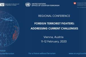 "Joint Regional High-level Conference on ""Foreign Terrorist Fighters – Addressing Current Challenges"" (OSCE)"
