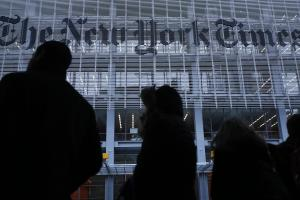 According to reports, New York Times' national security reporter Ali Watkins had years' worth of her phone and email records seized as part of a leak investigation. (REUTERS/Carlo Allegri)