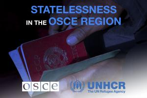 "Thumbnail for ""Statelessness in the OSCE region"" (OSCE)"