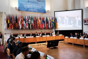 Opening of the OSCE Economic and Environmental Forum, 11 September 2019, Prague.  (OSCE)