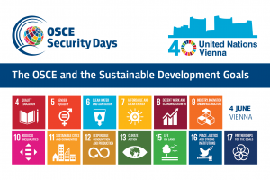 Security days: The OSCE and the Sustainable Development Goals (OSCE)