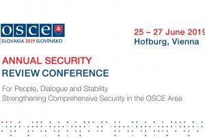 2019 Annual Security Review Conference, Bratislava, 25-27 June 2019. (OSCE)