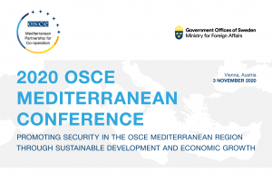 2020 OSCE Mediterranean Conference (OSCE)