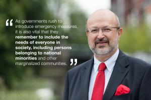OSCE High Commissioner on National Minorities Lamberto Zannier (OSCE)