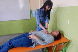 First aid training course organized by CSO Phenomena with the support of the OSCE Mission to Serbia, Kraljevo,  March 2019 (Bojana Minović / Phenomena)