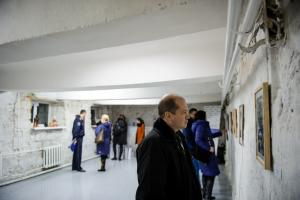 A total of 16 artworks on the topic of gender equality were awarded and put on display for the public at the Faculty of Fine Arts of the Academy of Music, Theatre and Fine Arts, Chisinau, 27 November.  (OSCE/Igor Schimbător)