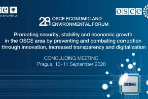 Concluding Meeting of the 28th OSCE Economic and Environmental Forum (OSCE)