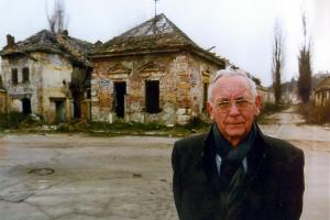 The Max van der Stoel Award is presented by the Government of the Netherlands every two years. It honours the memory of distinguished Dutch statesman and the first OSCE High Commissioner on National Minorities, Max van der Stoel (seen here in Vukovar, Croatia).  (OSCE)
