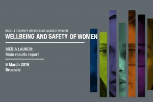Media launch: Main results report of the OSCE-led Survey on the Wellbeing and Safety of Women (OSCE)
