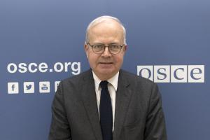 Emmanuel Decaux of France was elected as President of the OSCE Court of Conciliation and Arbitration in October 2019. (OSCE/Stanislava Kazimirova)