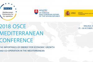 2018 OSCE Mediterranean Conference  (OSCE)