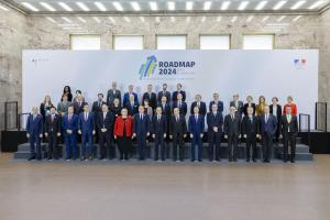 Roadmap 2024: The second high-level meeting of the Franco-German initiative for the comprehensive control of Small Arms and Light Weapons (SALW) in the Western Balkans, Berlin, 31 January 2020.  (Thomas Trutschel/Photothek.net)