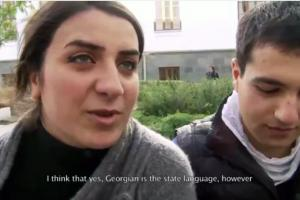 A still from the the documentary highlighting one of the activities of the OSCE High Commissioner on National Minorities: A project to support multilingual education reform in Georgia. (OSCE)