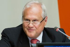 Ambassador Martin Sajdik - Special Representative of the OSCE Chairperson-in-Office in Ukraine and in the Trilateral Contact Group (UN Photo)