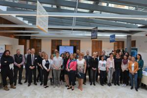 Participants during a specialized training course on appropriate and effective responses to gender-based violence for criminal justice practitioners, Budapest, 10 May 2019. (CEPOL/Judit Pasztor)