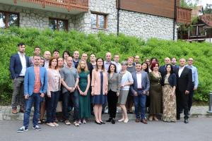 Participants of a specialized training course on effective responses to gender-based violence (OSCE)