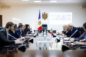 OSCE Secretary General Thomas Greminger meeting with Deputy Prime Minister for Reintegration and Chief Negotiator Vasilii Sova, Chisinau, 18 September 2019.  (OSCE/Igor Schimbator)