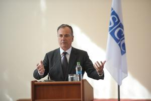 Visiting Moldova, OSCE Chair's Special Representative Franco Frattini urges Sides to step up efforts to maintain positive dynamic in settlement process