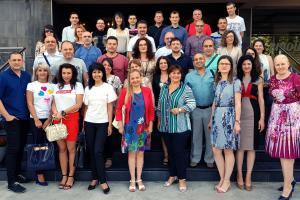 Participants during a specialized training course on appropriate and effective responses to gender-based violence for criminal justice practitioners, Plovdiv, 14 June 2019.  (Steven Dorn)