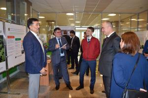 "Officials from Tajikistan visit the ""Centre for Energy Efficiency"" and meet with the management of the joint stock company ""Kazakhstan Utilities Centre"", Astana, 23 July 2018.  (Coalition for Green Economy and G-Global Development/Ilya Sukhonosenko)"