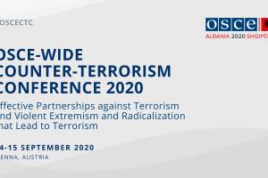 OSCE-wide Counter-Terrorism Conference 2020, Vienna, 14-15 September 2020.    (OSCE)