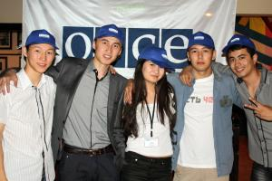 Students from across the region participated in the Central Asian Youth Network seminar in Almaty, 22 June 2010. (OSCE/Almas Ospanov)