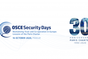 Security Days: Revitalizing Trust and Co-operation in Europe: Lessons of the Paris Charter, 16 October 2020. (OSCE)