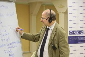 OSCE-supported training course explores ways to realize effective participation of national minorities in Moldovan public life