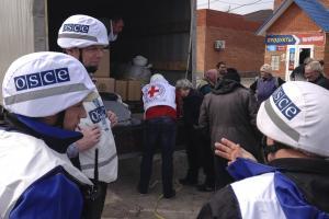 Кроме содействия в организации локального перемирия, 26 марта СММ также удалось облегчить доступ в Широкино столь необходимой гуманитарной помощи от Международного Комитета Красного Креста.  (OSCE)