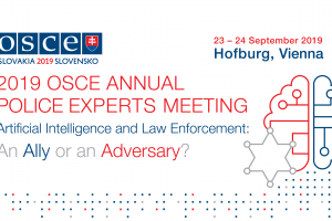 2019 OSCE Annual Police Experts Meeting, 23-24 September 2019. (OSCE)