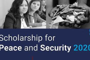 Third Edition of the OSCE Scholarship for Peace and Security  (OSCE)