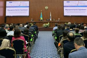 Opening of the second OSCE Russian-language live exercise to fight human trafficking, Nur-Sultan, 24 June 2019. 