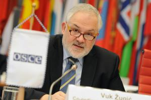 Vuk Žugić, Co-ordinator of the OSCE Economic and Environmental Activities (OSCE/Micky Kroell)