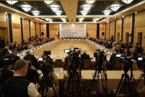 Opening of the 2019 OSCE Mediterranean Conference, 24 October 2019, Tirana. (Albanian Ministry of Foreign Affairs)
