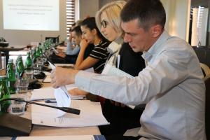 Participants of the workshop on identifying victims of human trafficking in migration flows organized jointly by the OSCE Office of the Special Representative and Co-ordinator for Combating Trafficking in Human Beings (OSR/CTHB) and the OSCE's field operations in South-Eastern Europe, Sarajevo, 18 July 2019. (OSCE Mission to Bosnia and Herzegovina)