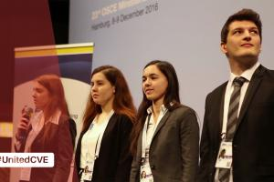 #UnitedCVE P2P finalist team from the University of Ljubljana telling how they developed the Fear Index algorithm to help analyze media reports in Slovenia.