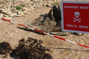 Артилерійські боєприпаси часів Другої світової війни, знайдені поряд з містом Керч, Крим, вересень 2009 р. (ОБСЄ/Рене Бібо)